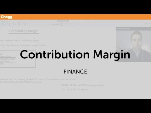 definition of contribution margin