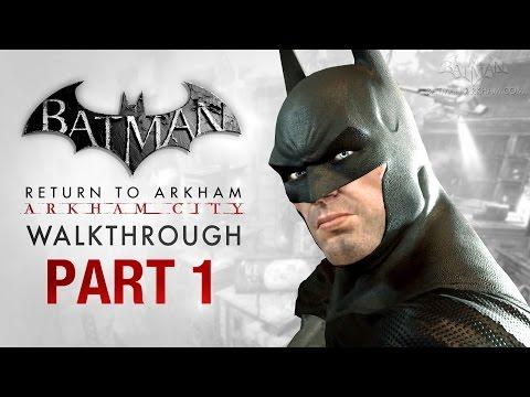 Batman: Return to Arkham City Walkthrough - Part 1 - Intro