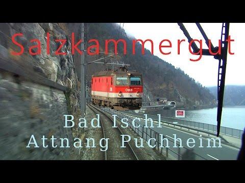 Führerstandsmitfahrt Salzkammergutbahn Bad Ischl - Attnang Puchheim [HD] Cab Ride ÖBB 1144