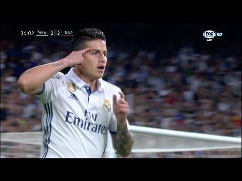 James Rodriguez vs Barcelona Home HD (23/04/2017) by JamesR10™