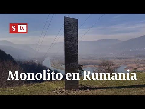 Nuevo monolito misterioso, esta vez apareció en Rumania | Videos Semana