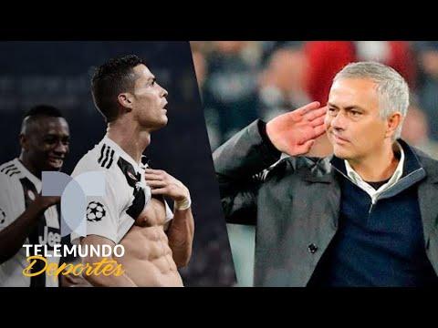 La burla de Mourinho tras arrollar a Cristiano y a la Juventus   Telemundo Deportes