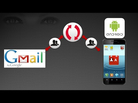 how to sink phone contacts to gmail