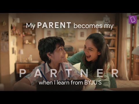 Byju's-When Parents Become Partners