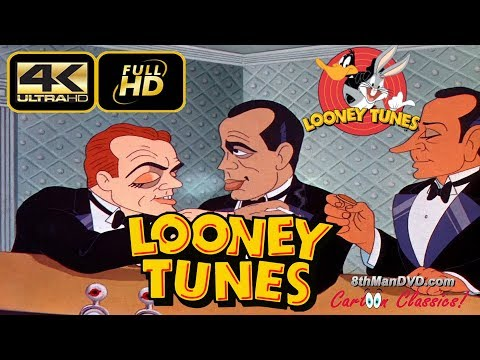 LOONEY TUNES (Looney Toons): Hollywood Steps Out (1941) (Remastered) (Ultra HD 4K)