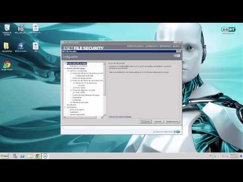 Instalación de ESET File Security 4.5 para Microsoft Windows Server