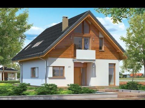 Projekt domu Prosty http://www.mgprojekt.com.pl/prosty