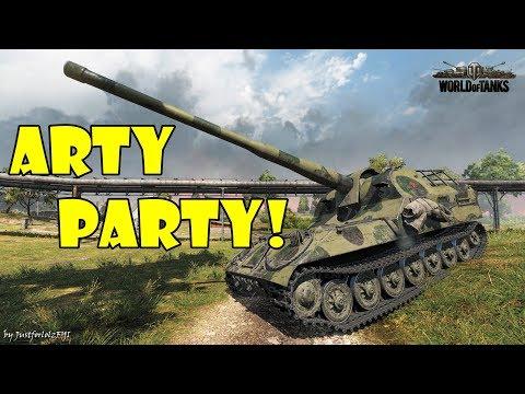 World of Tanks - Funny Moments | ARTY PARTY! #59 (видео)