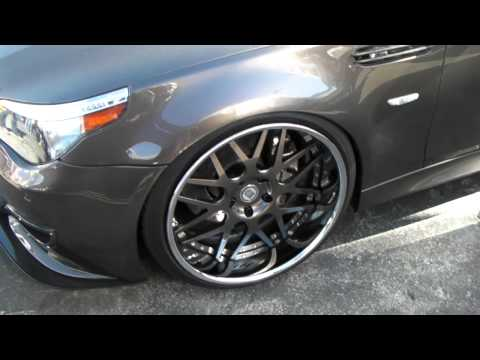 DUBSandTIRES.com 2010 BMW M5 Review 22'' HRE Custom Painted wheels Asanti Forgiato Rims