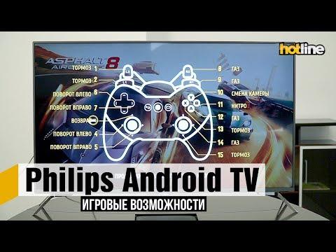Игровые возможности Android TV