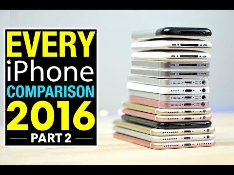 Kaikkien iPhone-mallien nopeustesti