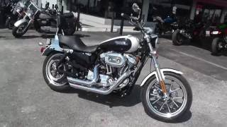 8. 429275 - 2014 Harley Davidson Sportster 1200 SuperLow XL1200T - Used Motorcycle For Sale