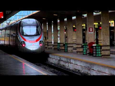 Mini footage - Trenitalia superexpress to Rome (Florence, Italy)