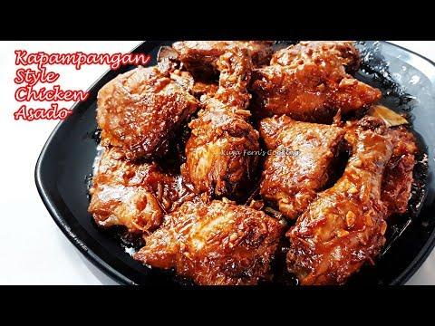 THE BEST KAPAMPANGAN STYLE CHICKEN ASADO RECIPE MADE EASY!!!