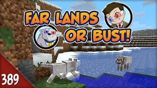 Minecraft Far Lands or Bust - #389 - Pink Sheep Pandemic