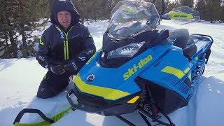 2. Full REVIEW: 2018 Ski-Doo Renegade Backcountry X