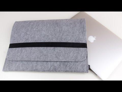 Review: MacBook Pro Retina 15, 13 und Air Sleeve aus Filz - Notebook Tasche/ Hülle 5mm stark im Test