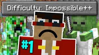 Minecraft But It's Impossible (#1) by CaptainSparklez