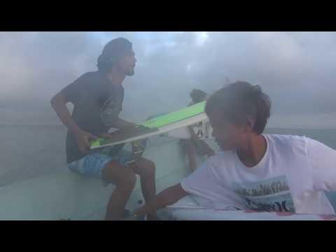 """Marlon Gerber on his Twin Fin 5'4"""" by Yoshi Ueda"""