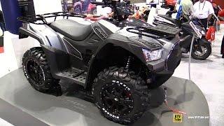 5. 2017 Kymco MXU 700i LE Recreational ATV - Walkaround - 2016 AIMExpo Orlando