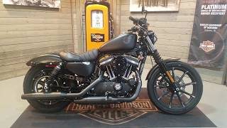 8. 2019 Harley-Davidson Sportster, Iron 883 XL883N-Black Denim.