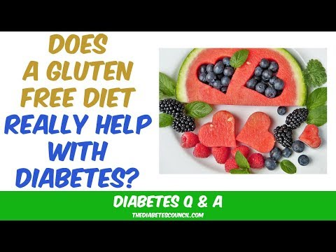 Diabetic diet - Do Gluten Free Products Help With Diabetes?