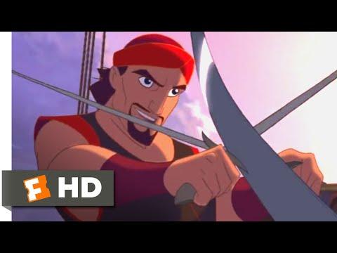 Sinbad (2003) - Pirate Boarding Party Scene (1/10) | Movieclips