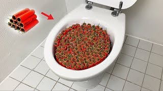 Video 1000 Firecrackers vs Toilet MP3, 3GP, MP4, WEBM, AVI, FLV Mei 2019