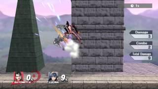 Super rad zero to death with Bayonneta by Falln