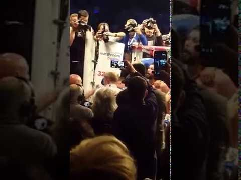 Tony Bellew launches at David Haye following BJ Flores win