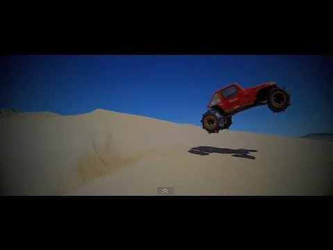 BenderCustoms - Formula Offroad FOFF Brushless Ridgecrest and SCX10 at Johnson Valley Sand Dunes. Took a short camping trip with the family this past weekend to Johnson Vall...