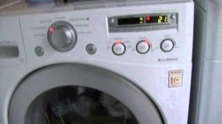 LG Washer Trouble-Vibrating Noise