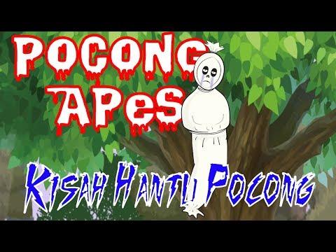 Kartun Pocong Lucu - Kisah Di balik Menyeramkan Hantu Pocong