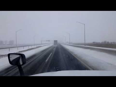 BigRigTravels LIVE! Rochelle To Joliet, Illinois I-88, IL 47, US 52-Jan. 12, 2019