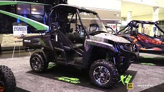 4. 2016 Arctic Cat HDX 700 Hunter Edition ATV - Walkaround - 2015 AIMEXPO Orlando