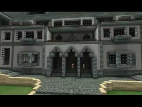 Minecraft Mansion Megabuild - Part 1: Exterior (By GNRfrancis)
