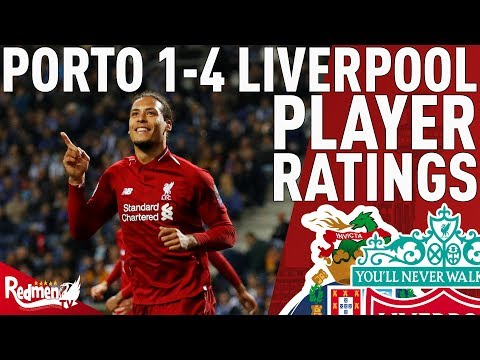 Van Dijk... Nine! | Porto V Liverpool 1-4 | Player Ratings