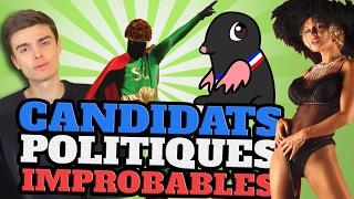 Video TOP 10 des CANDIDATS POLITIQUES les plus IMPROBABLES feat. HugoDécrypte MP3, 3GP, MP4, WEBM, AVI, FLV Mei 2017