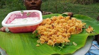 Village Style Tomato Biryani Cooking in Our Village Farm / Food Money Food