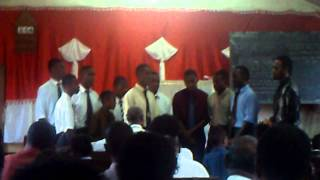 Fijian Boys Singing Gospel Songs
