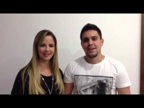 Maria Cecília e Rodolfo convidam a todos para o show em Nioaque - MS.