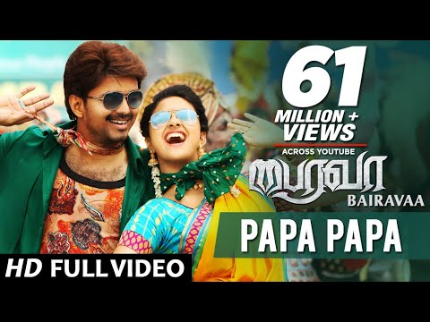 PaPa PaPa Song Video - Bairavaa - Vijay, Keerthy Suresh