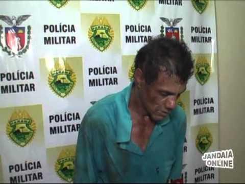 Foragido é preso após roubar residência em Jandaia