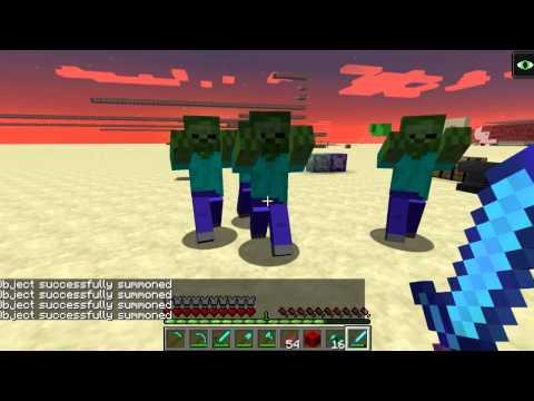 Minecraft Snapshot 15w34c -- Attack Speed and Damage Changes