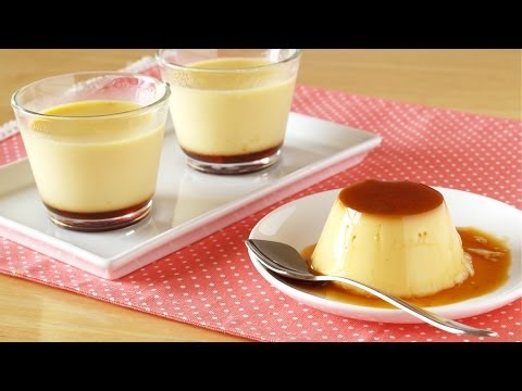How To Make Japanese Purin (Custard Pudding / Crème Caramel Recipe) | OCHIKERON
