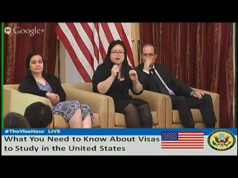 LIVESTREAM: The Visa Hour: What You Need to Know About Visas to Study in the United States