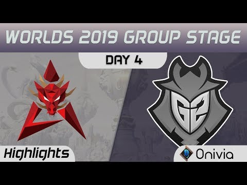 HKA vs G2 Highlights Worlds 2019