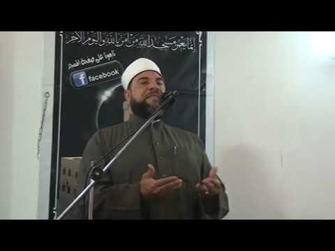 فضيلة الشيخ محمد عجمى وكيل وزارة الاوقاف بالسويس بمسجد الهدى بالعبور