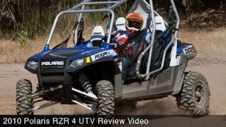 9. MotoUSA 2010 Polaris RZR 4 UTV Review