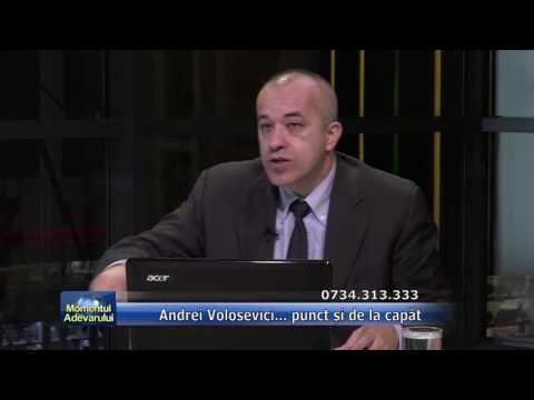 Emisiunea Momentul Adevărului – 6 octombrie 2016 – Invitat, Andrei Volosevici